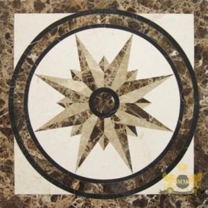 S071 - Compass floor medallion