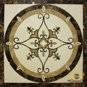 S086 - Sqaure floor medallion