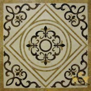 S087 - Sqaure floor medallion