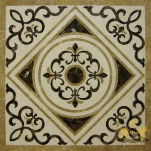 S088 - Sqaure floor medallion