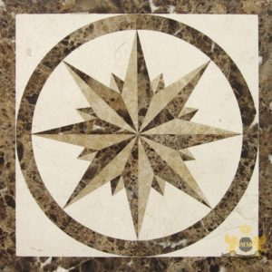 S090 - Sqaure floor medallion