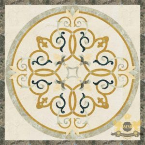 S093 - Sqaure floor medallion