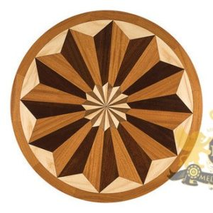 26Wooden Medallion