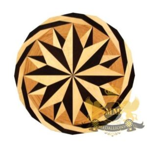 27Wooden Medallion