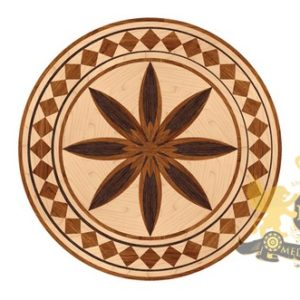 03 Wooden Medallion