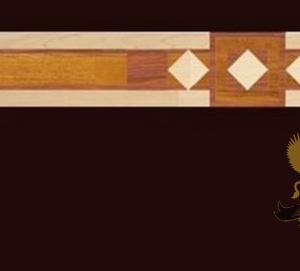 18 Marquetry Border
