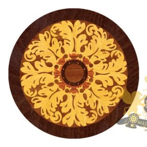 05 Wooden Medallion