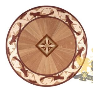 42 Wooden Medallion