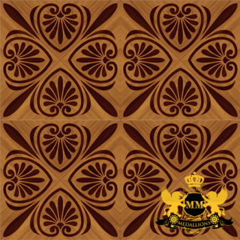 Bespoke Custom Parquet Art Wood FLooring by Monarchy Medallions (1 of 535)
