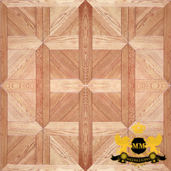 Bespoke Custom Parquet Art Wood FLooring by Monarchy Medallions (10 of 535)