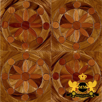 Bespoke Custom Parquet Art Wood FLooring by Monarchy Medallions (15 of 535)