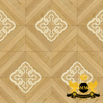 Bespoke Custom Parquet Art Wood FLooring by Monarchy Medallions (150 of 535)