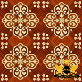 Bespoke Custom Parquet Art Wood FLooring by Monarchy Medallions (153 of 535)