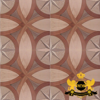 Bespoke Custom Parquet Art Wood FLooring by Monarchy Medallions (16 of 535)