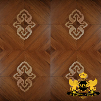 Bespoke Custom Parquet Art Wood FLooring by Monarchy Medallions (166 of 535)