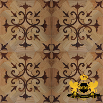 Bespoke Custom Parquet Art Wood FLooring by Monarchy Medallions (167 of 535)