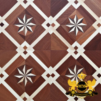 Bespoke Custom Parquet Art Wood FLooring by Monarchy Medallions (170 of 535)