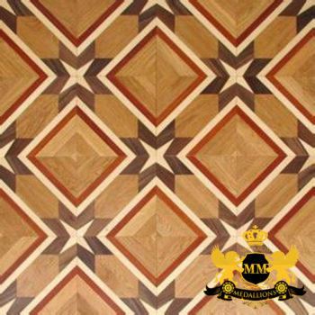 Bespoke Custom Parquet Art Wood FLooring by Monarchy Medallions (172 of 535)