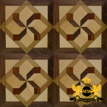 Bespoke Custom Parquet Art Wood FLooring by Monarchy Medallions (177 of 535)