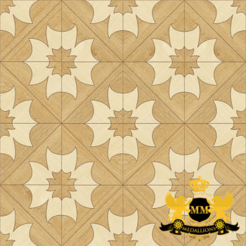 Bespoke Custom Parquet Art Wood FLooring by Monarchy Medallions (2 of 535)