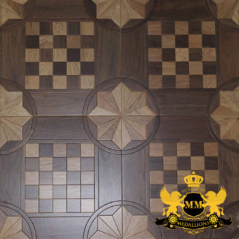 Bespoke Custom Parquet Art Wood FLooring by Monarchy Medallions (28 of 535)