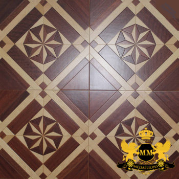Bespoke Custom Parquet Art Wood FLooring by Monarchy Medallions (29 of 535)