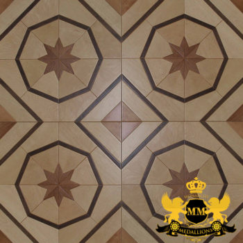 Bespoke Custom Parquet Art Wood FLooring by Monarchy Medallions (30 of 535)