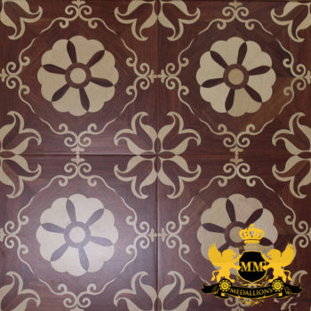 Bespoke Custom Parquet Art Wood FLooring by Monarchy Medallions (31 of 535)