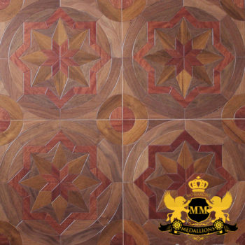 Bespoke Custom Parquet Art Wood FLooring by Monarchy Medallions (32 of 535)