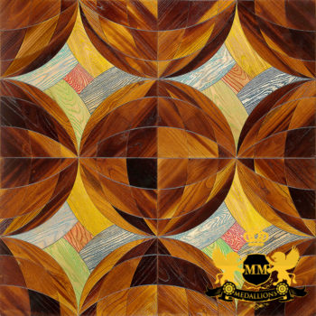 Bespoke Custom Parquet Art Wood FLooring by Monarchy Medallions (4 of 535)