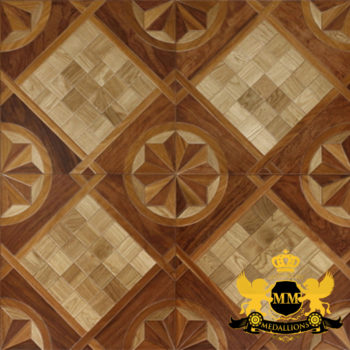 Bespoke Custom Parquet Art Wood FLooring by Monarchy Medallions (42 of 535)