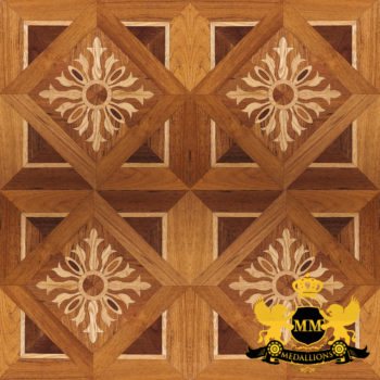 Bespoke Custom Parquet Art Wood FLooring by Monarchy Medallions (48 of 535)