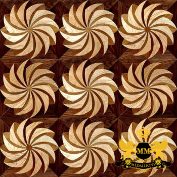 Bespoke Custom Parquet Art Wood FLooring by Monarchy Medallions (50 of 535)