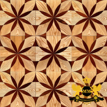 Bespoke Custom Parquet Art Wood FLooring by Monarchy Medallions (6 of 535)