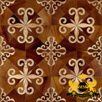 Bespoke Custom Parquet Art Wood FLooring by Monarchy Medallions (69 of 535)