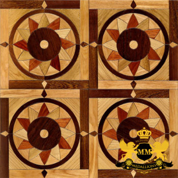 Bespoke Custom Parquet Art Wood FLooring by Monarchy Medallions (7 of 535)